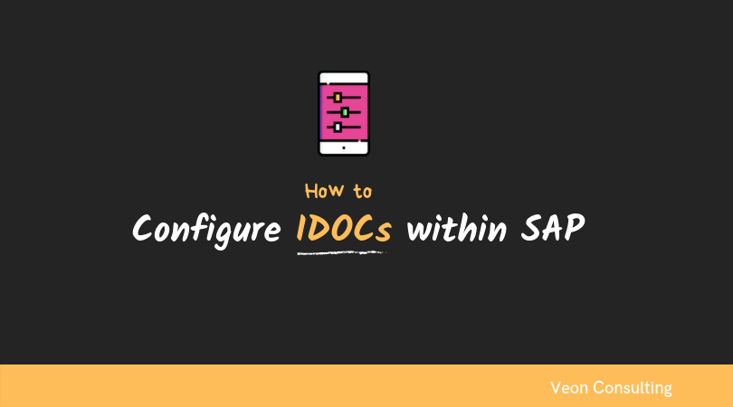 Banner image how to configure IDOCs within SAP