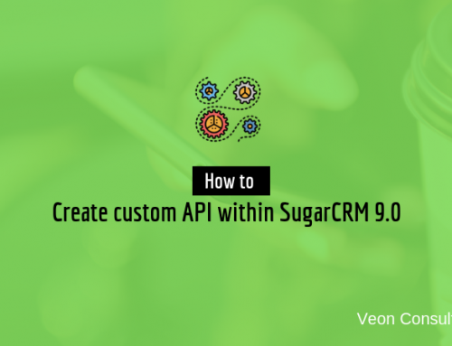 How to create custom SugarCRM API