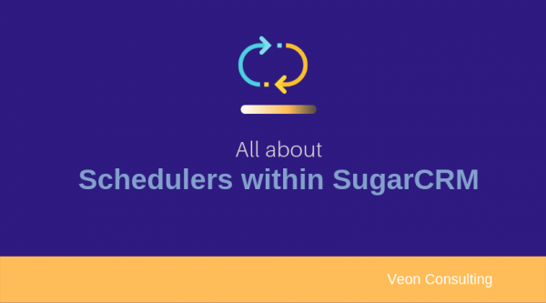 SugarCRM schedulers and batch jobs banner images