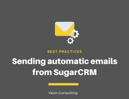 Best practices for sending emails automatically from SugarCRM