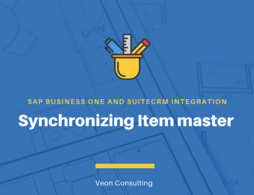 Item master integration between SuiteCRM – SAP Business One