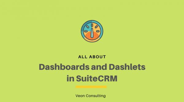 Banner SuiteCRM dashboards and dashlets