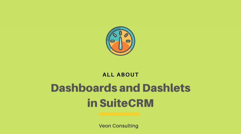 Banner SuiteCRM dashboards and dashlets