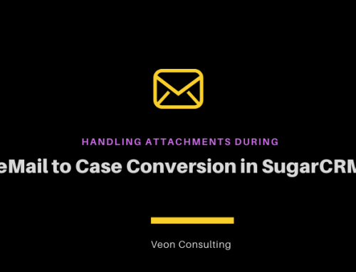 SugarCRM | Attaching documents during email to case conversion