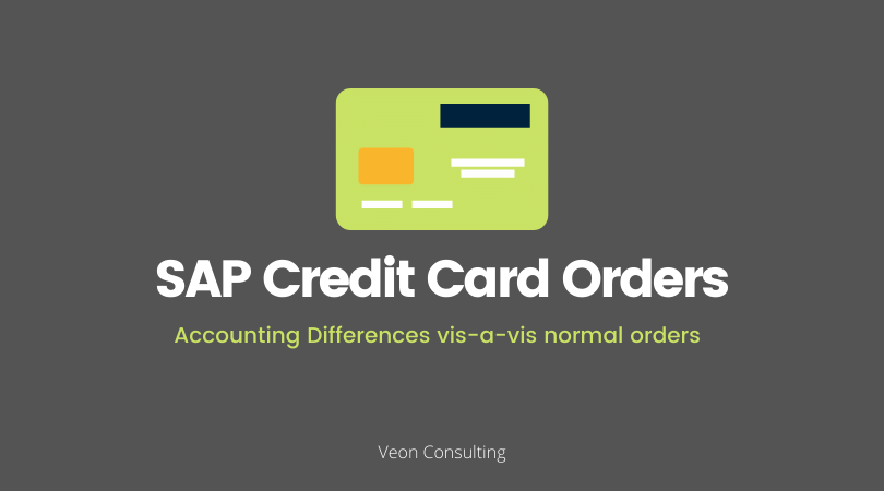 Banner SAP Credit Card Order Accounting Difference