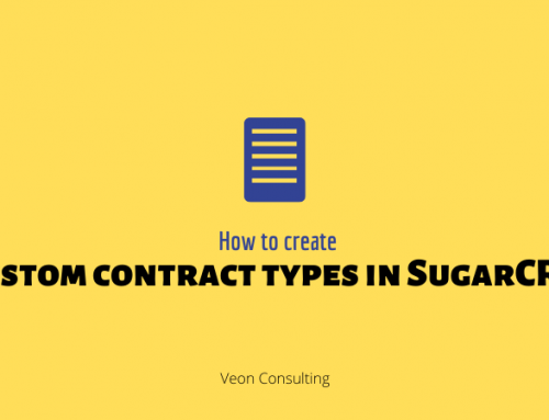 Understanding Contract types in SugarCRM