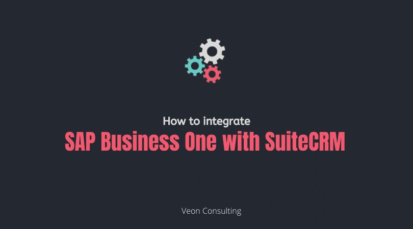 Banner image SAP Business one SuiteCRM integration