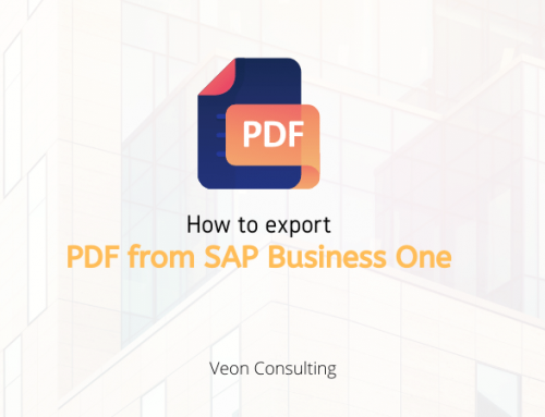 Exporting PDFs via custom Add-on – SAP Business One