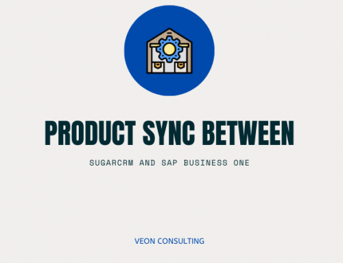 Syncing products between SAP B1 and SugarCRM