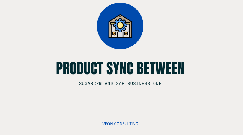SAP SugarCRM Product Sync banner image