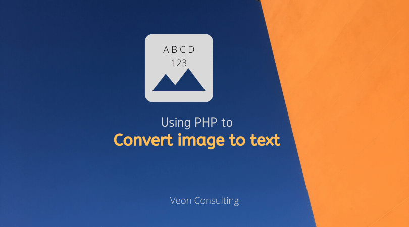 PHP OCR to convert image to text- Banner image