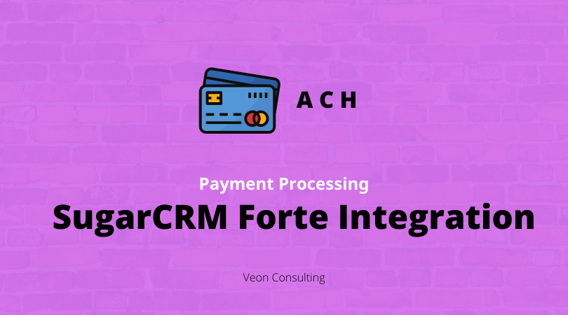 SugarCRM Forte Integration - Banner image