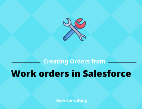 How to Create Order from work order in Salesforce