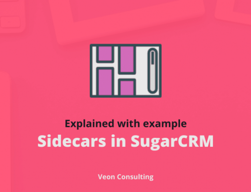 What Sidecar in SugarCRM With Implementation example