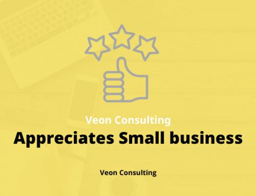 Veon Consulting Appreciates Small Businesses