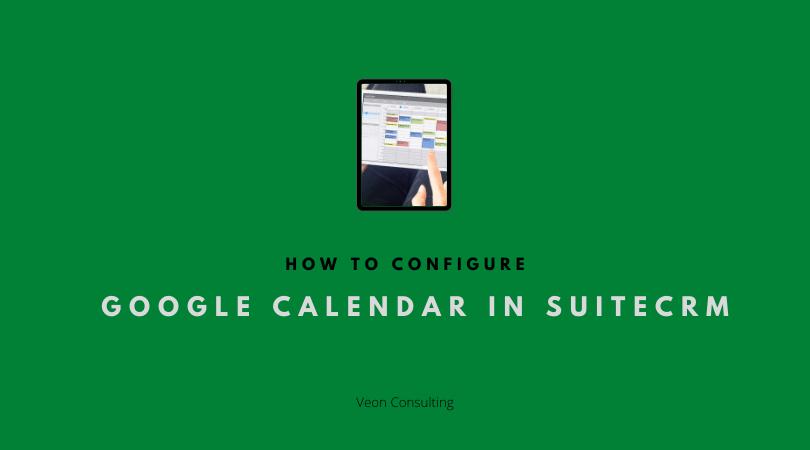 Banner SuiteCRM Google Calendar sync