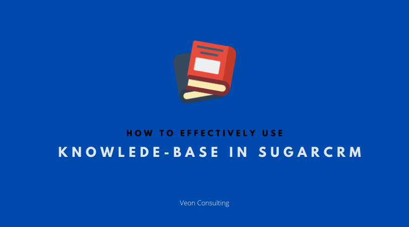 Banner image - Effective use of SugarCRM Knowledge base