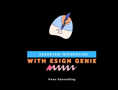 SugarCRM eSign Genie Integration