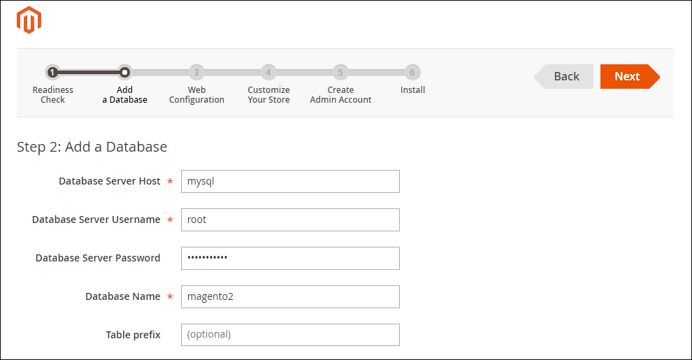 Adding database connection to Magento